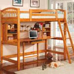 Удобная детская кровать чердак – идеальное интерьерное решение для детской комнаты