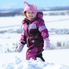 детская обувь для зимних прогулок