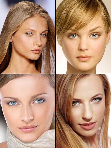 нанесение естественного макияжа