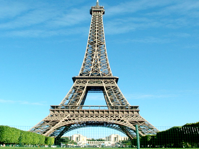 достопримечательности Франции Эйфелева башня