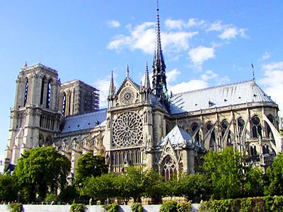 достопримечательности Франции Собор Нотр-Дамм