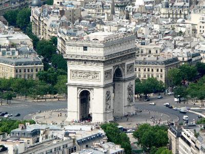 достопримечательности Франции Триумфальная арка