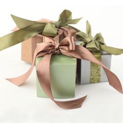 красивая упаковка подарка