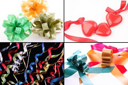 декоративные элементы для упаковки подарка