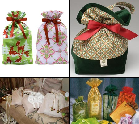 Мешок для подарков новогодний своими руками