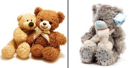 мишки Тедди и мишка Me to You