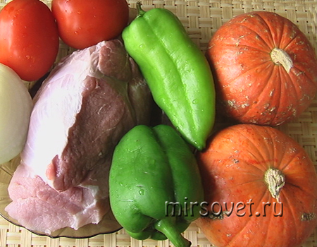 запеченая свинина в горшке ингредиенты