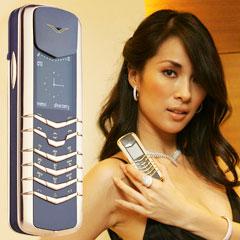 имиджевый телефон vertu