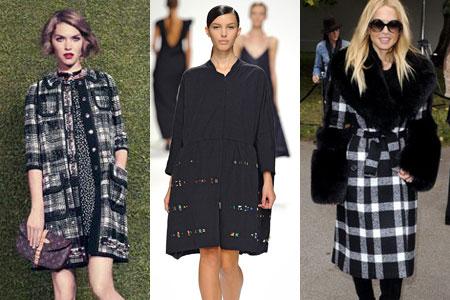 модные пальто весна 2012
