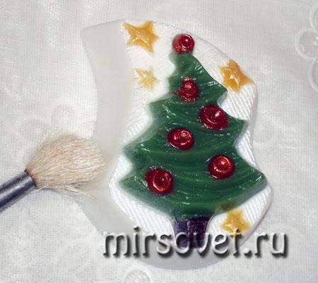 мыло Ёлочка своими руками мастер-класс фото 11