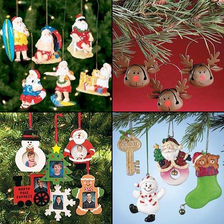игрушки для украшения елки