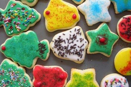 новогоднее печенье для гостей