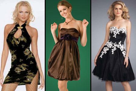 ткани и отделка новогоднего платья 2012
