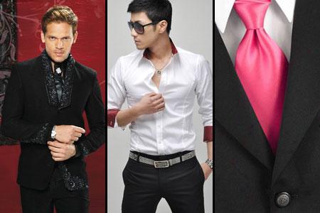 в чем мужчине встречать Новый год 2012
