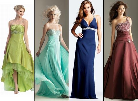 длинные платья на выпускной вечер