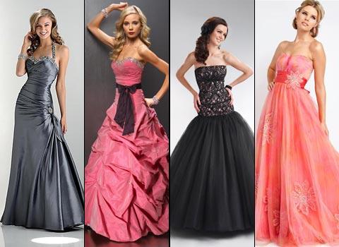 длинные платья на выпускной бал