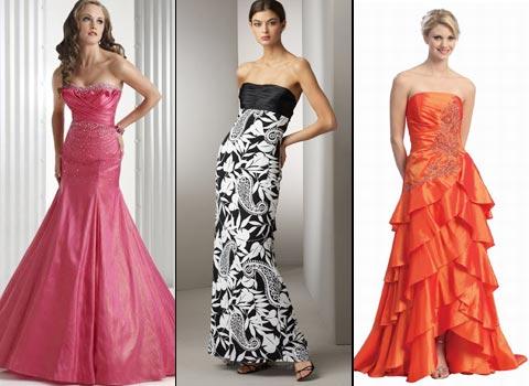 длинные платья для выпускниц