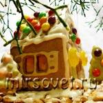 Как сделать пряничный домик своими руками: мастер-класс с фото и рецептами