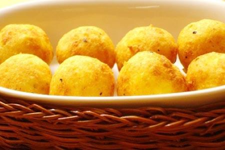 новогодний рецепт сырных шариков