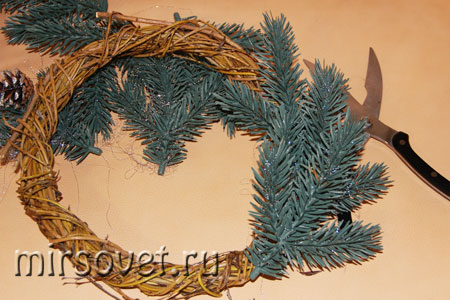 рождественский венок фото 5