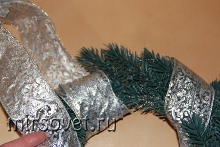 рождественский венок фото 11