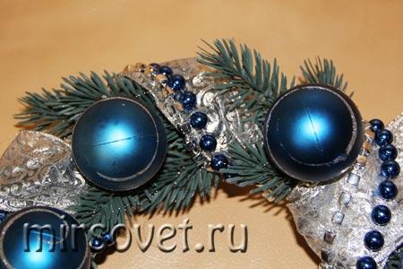 рождественский венок фото 14