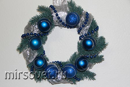 рождественский венок фото 15