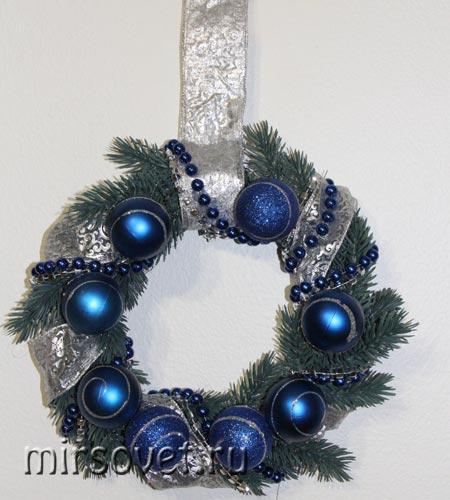 рождественский венок фото 16