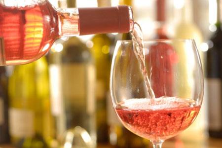 цвет розового вина
