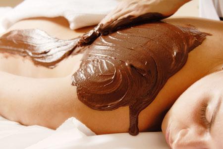 домашние шоколадные обертывания