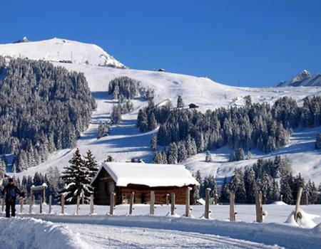горнолыжный поселок Вилар в Швейцарии