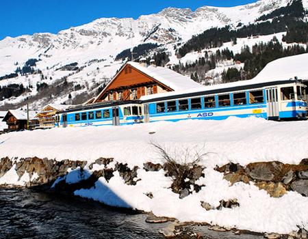 швейцарский курорт Ле-Дьяблере