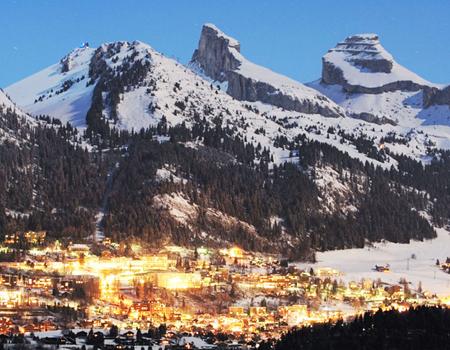 швейцарский курорт Лейзин