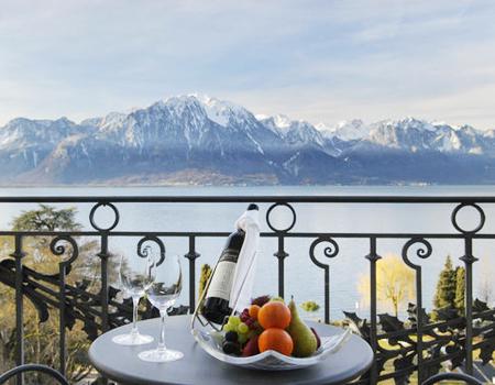Монтре - швейцарский курорт