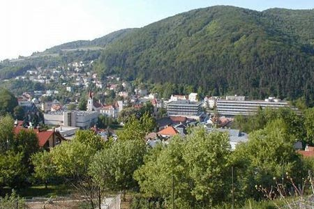 Словакия курорт Турчанске Теплице
