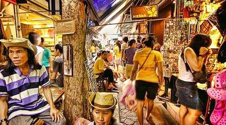 сувенирные лавки в Таиланде