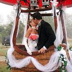 Свадьба в воздухе - необычно и эксклюзивно