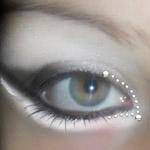 Необычный свадебный макияж глаз: мастер-класс с фото