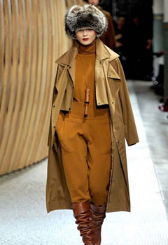 модная женская одежда осень-зима 2011-2012