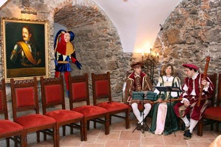Ужгородский замок в Закарпатье