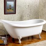 Преимущества и недостатки различных типов ванн