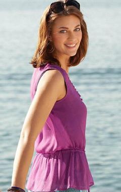 летнаяя женская блузка