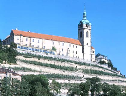 замок Мельник в Чехии