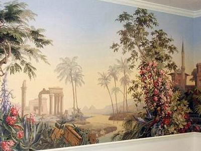 фотообои как украшение стен