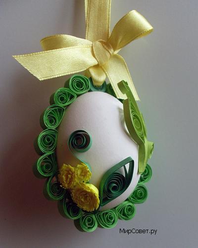 как сделать пасхальное яйцо-подвеску шаг 20
