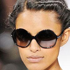 круглые женские очки
