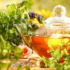 полезный травяной чай