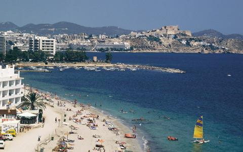 пляжный отдых на Ибице