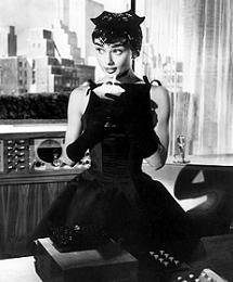 Маленькое чёрное платье одри хепберн