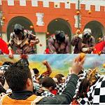 Апельсиновое Сражение в Италии